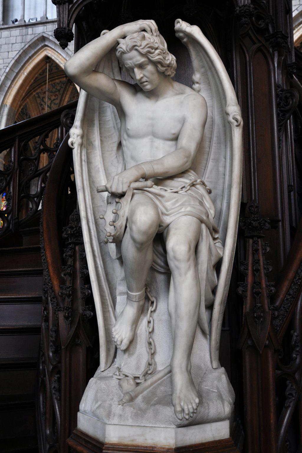 Статуя Люцифера